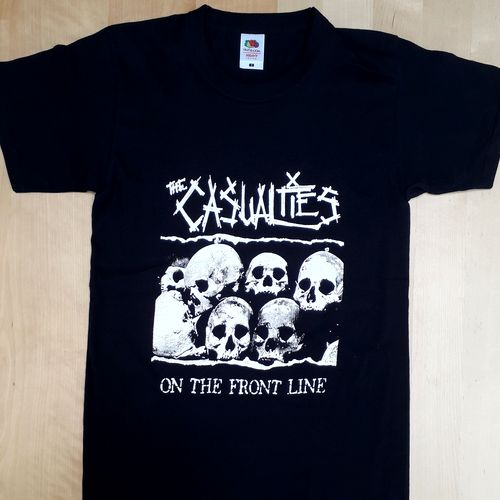 "T-Shirt Casualties ""on the frontline"""